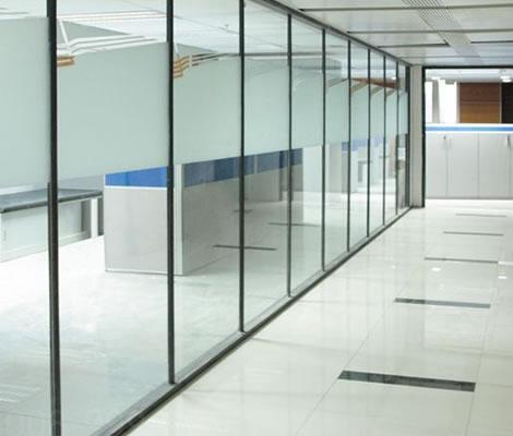 麦斯隐框特价系列双玻高隔间 隐框玻璃隔断