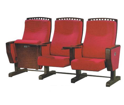 豪华顶配 亚奇家具 三人礼堂椅