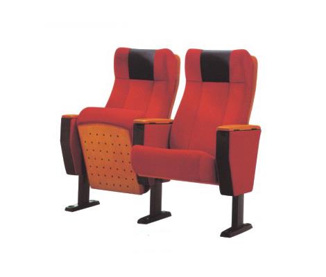 豪华顶配 亚奇家具 双人红色礼堂椅