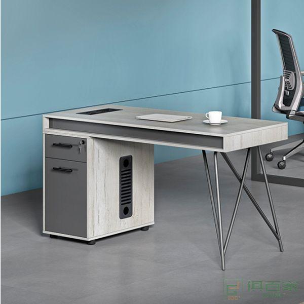 海沃氏办公桌简约现代职员上班电脑桌办公室单人办公桌子自习室学习桌