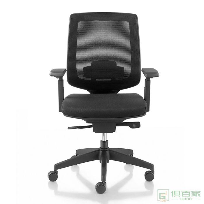 卓铭透气网格电脑椅办公椅网椅转椅职员椅会议椅摇椅子