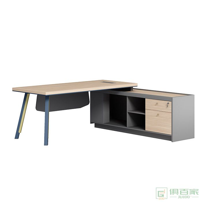 奥特莱斯家具拜登系列经理主管大班台办公桌简约现代办公室单人桌
