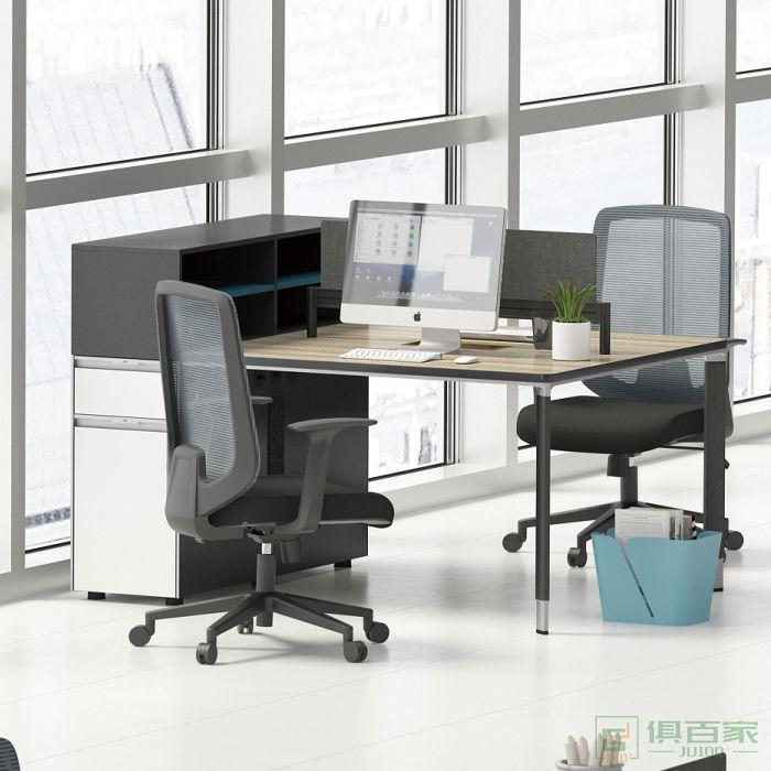 沃盛职员桌办公位两人位对坐两人位职员桌办公位