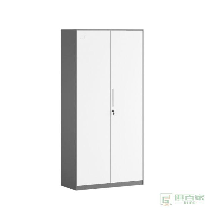 正大铁皮文件柜财务凭证柜资料档案柜家用带锁钢柜员工更衣柜子