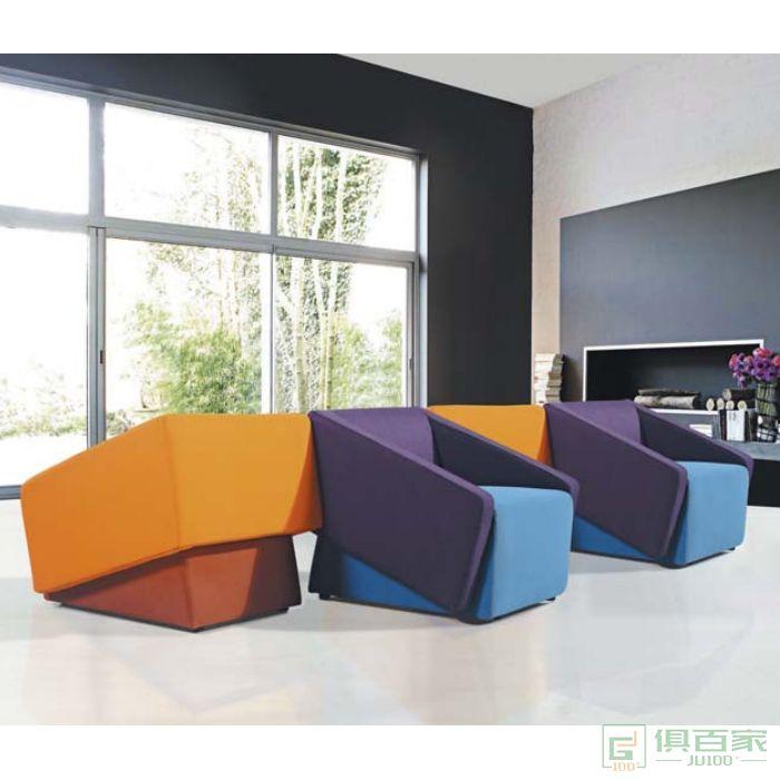 新越北欧休闲椅别墅小院沙发座椅民宿酒店办公室洽谈椅家具