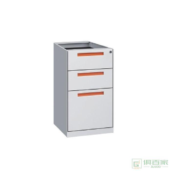 正大活动柜铁皮文件柜带锁矮柜带抽柜档案小钢柜资料小铁柜