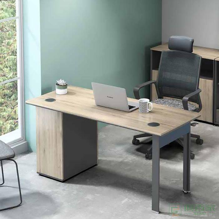 震庭办公桌简约现代职员上班电脑桌办公室双人办公桌子自习室学习桌