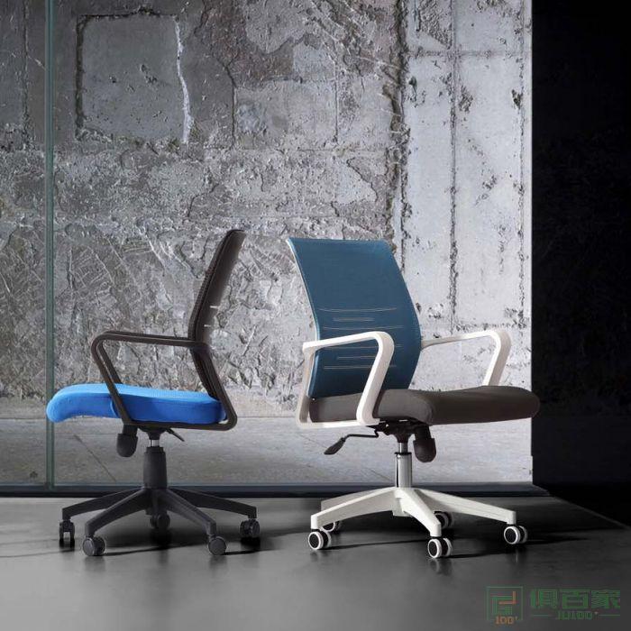 新越电脑椅家用 网椅办公椅职员会议椅转椅人体工程学椅