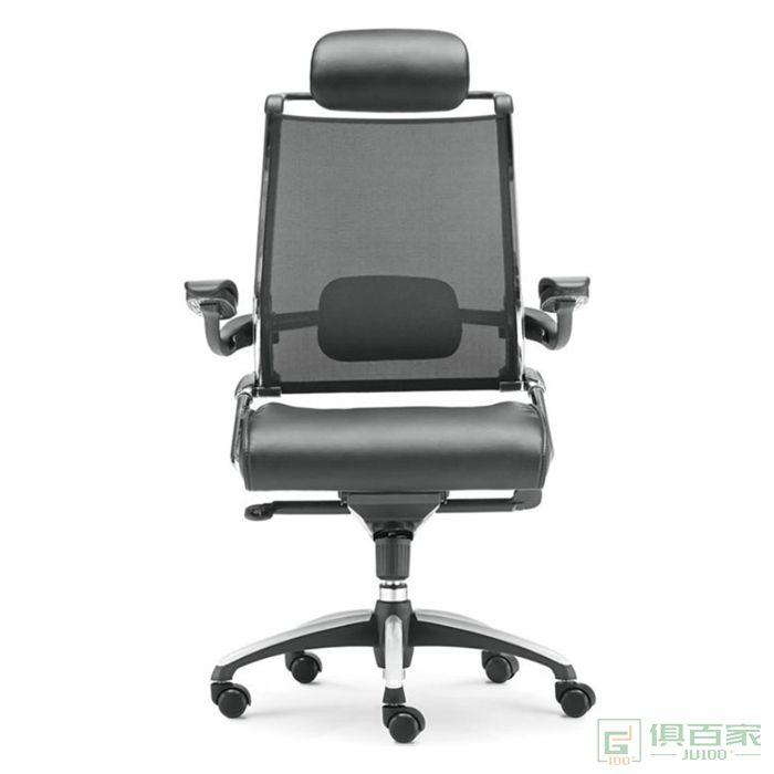新越电脑椅家用转椅人体工学弓形椅子时尚办公椅网布椅职员椅转椅