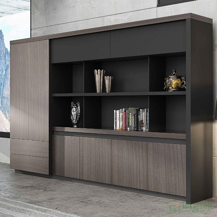 高卓办公家具文件柜木质可带锁定制档案柜资料柜保密柜书柜办公室柜子