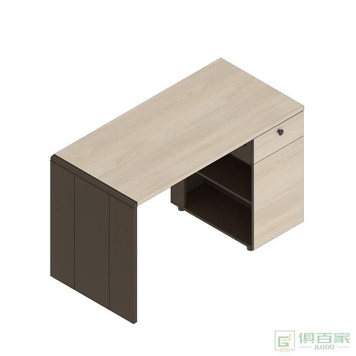 高卓家具吉象系列电脑桌老板桌职员桌经理桌台式桌办公桌写字台带抽屉办公桌