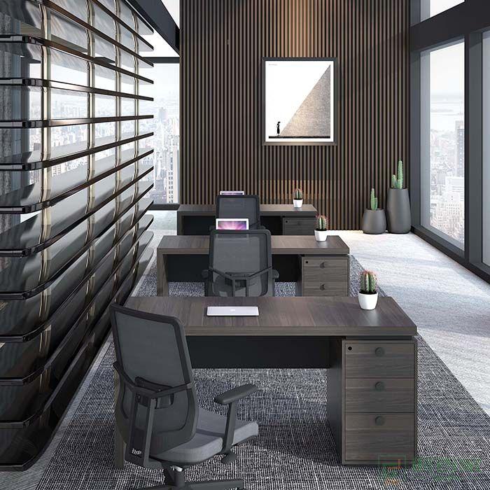 高卓家具锐意系列办公桌单人位职员桌员工桌椅组合财务桌简约现代办工桌