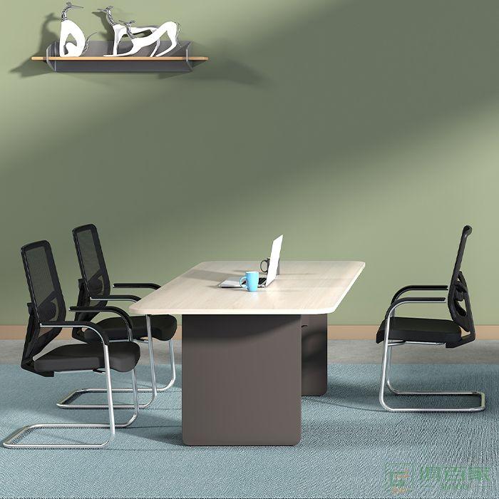 高卓家具吉象系列谈桌椅组合长方形开会接待办公室商务会客桌谈判桌