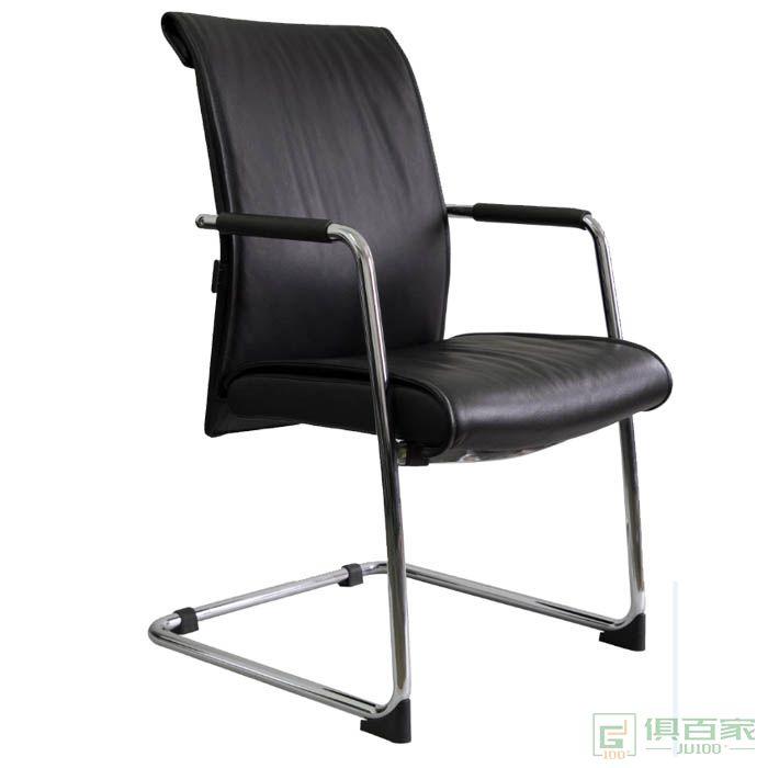 高卓公家具简约现代办公椅中班椅职员椅员工椅班前椅弓形会议椅