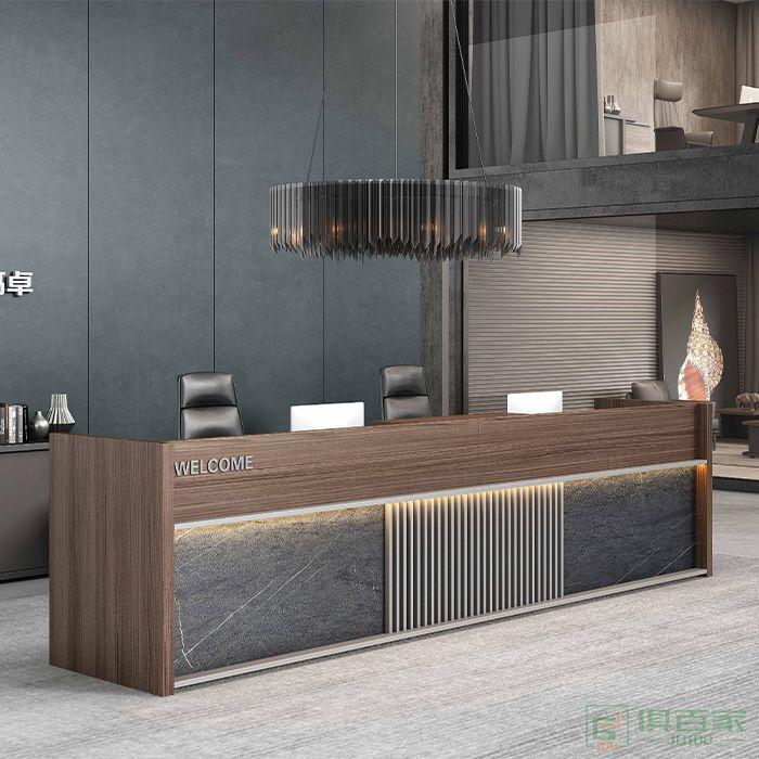 高卓创意前台公司咨询台迎宾台接待台收银台服务台前台办公室柜台
