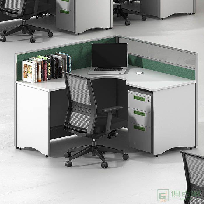 高卓家具屏风系列单人屏风位职员桌