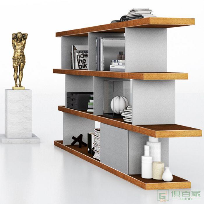 兆生家具凌锋系列木质高柜老板办公室书柜