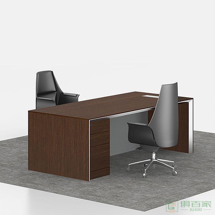 兆生家具铂睿系列电脑桌办公桌