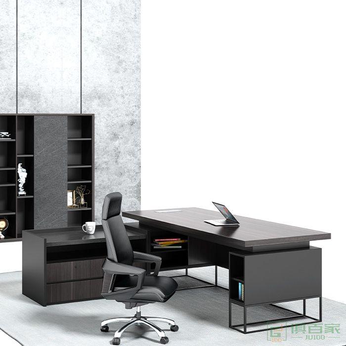 沃盛家具翰林系列大班台老板办公室电脑桌