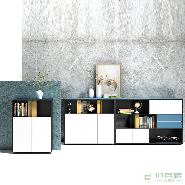 沃盛家具翰林系列文件柜组合柜矮柜