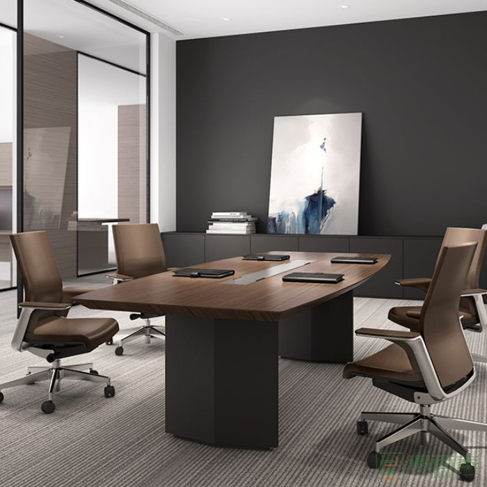 欧美斯家具Time泰沐会议台大型板式会议桌