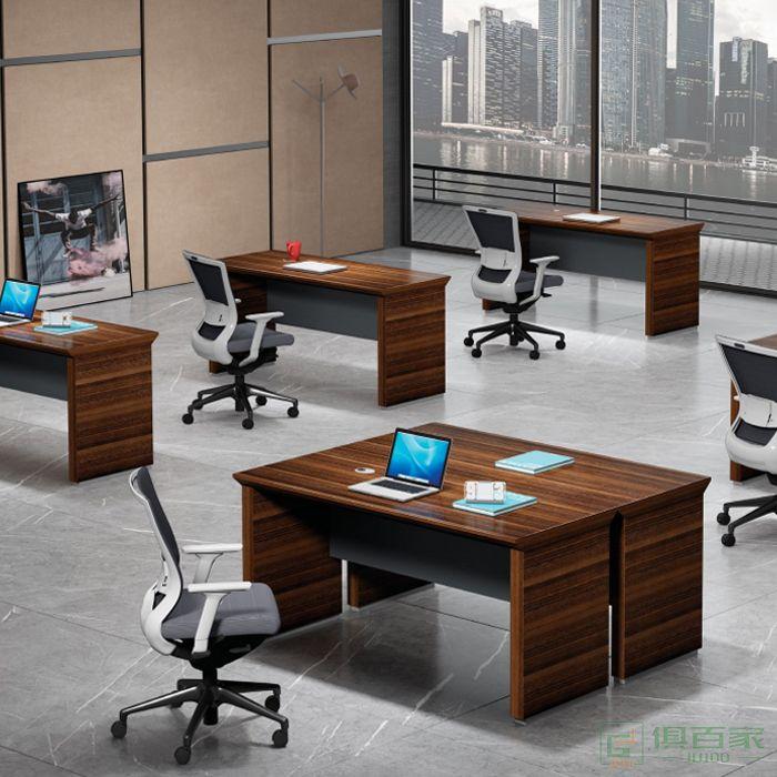 东业家具领尚系列财务桌主管桌职员桌
