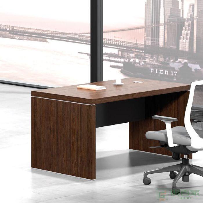 东业家具励志系列办公桌电脑桌