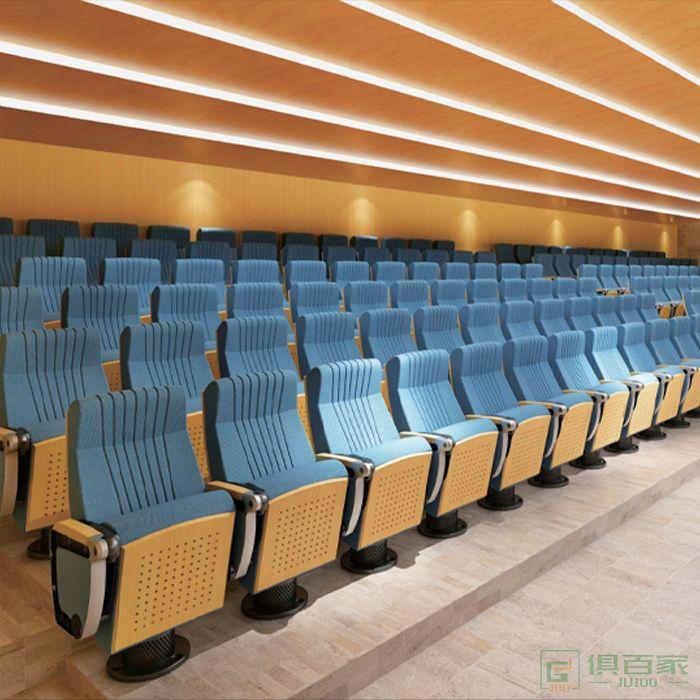 精一家具弘时系列排椅阶梯教室课桌椅报告厅电影院座椅