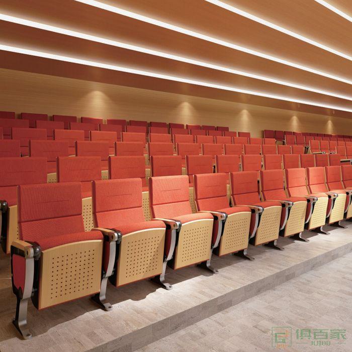精一家具弘时系列报告厅礼堂椅连排椅会议椅教室影院