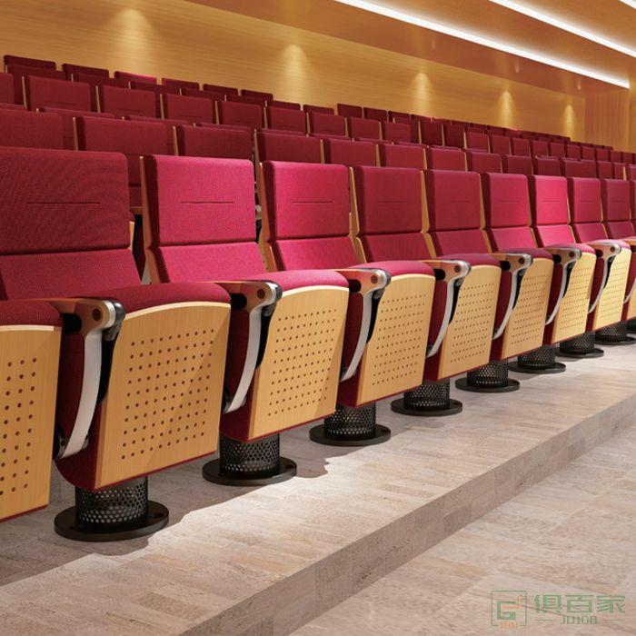 精一家具弘时系列礼堂椅影院阶梯椅连排电影院座椅公共椅