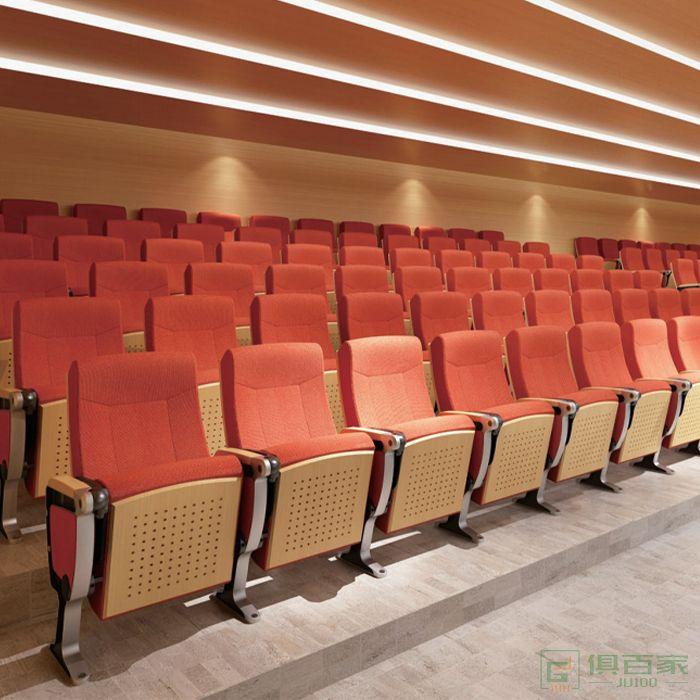 精一家具弘时系列礼堂座椅剧院椅铝合金阶梯影院