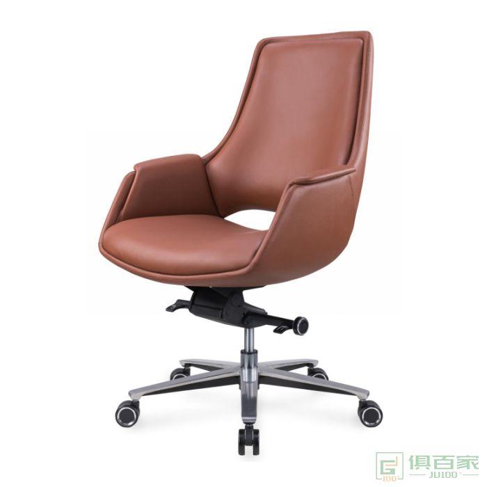 精一家具班前椅办公椅皮椅