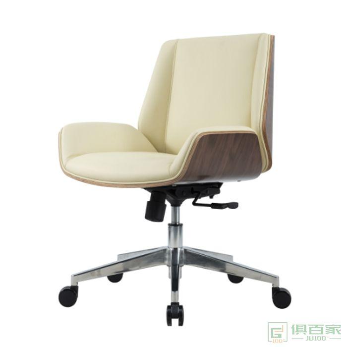 精一家具班前椅皮椅办公椅