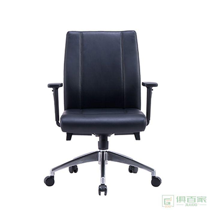 精一家具班前椅会客椅皮椅