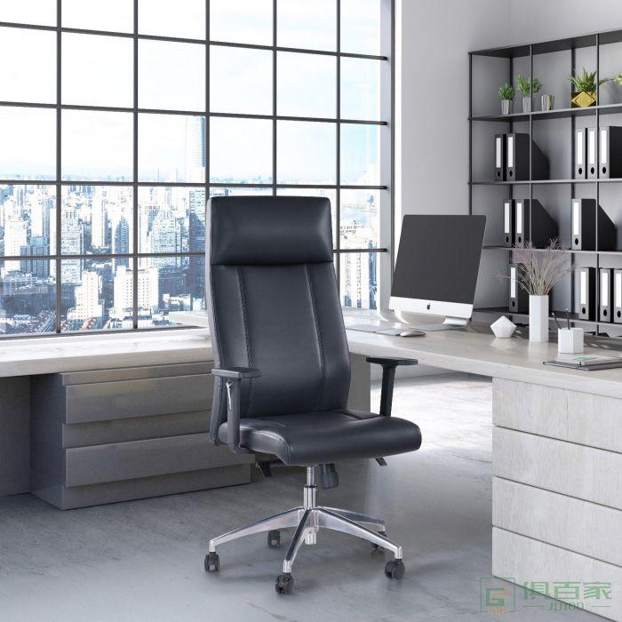 精一家具皮椅班椅老板椅