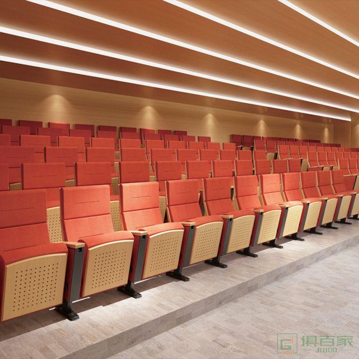 精一家具弘时系列礼堂椅影剧院椅政府学校阶梯教室报告厅