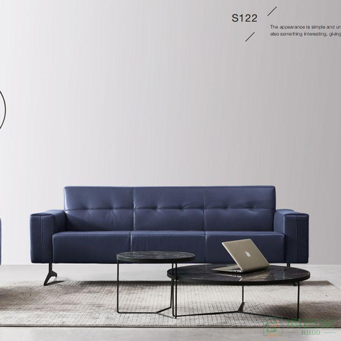 精一家具办公沙发原创高端设计会客接待室