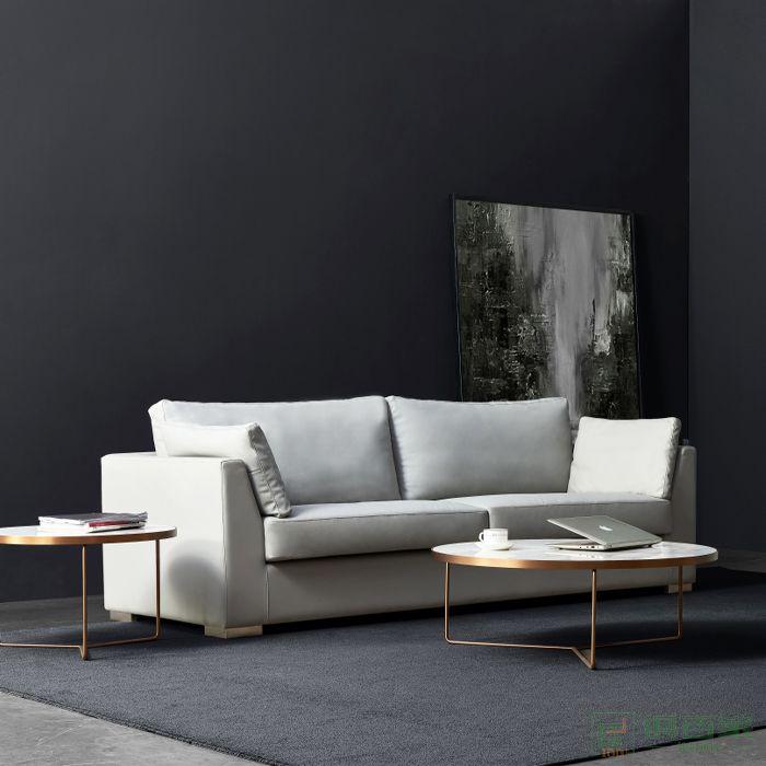 精一家具办公沙发简约现代商务接待休闲办公室沙发