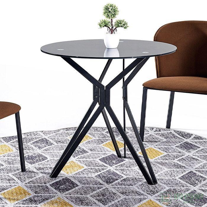 京图家具弯板系列简约洽谈办公会议接待休闲圆桌售楼处