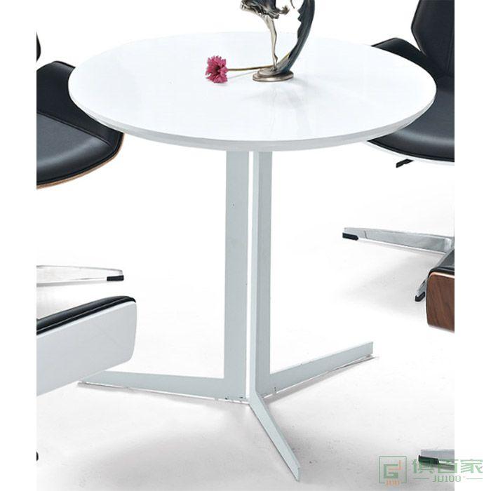 京图家具弯板系列洽谈桌接待桌接待区