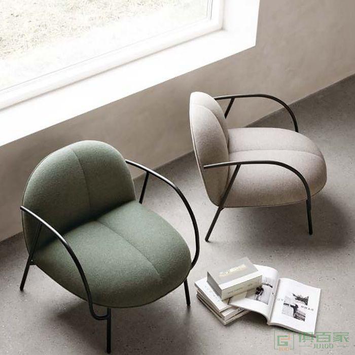 京图家具春风系列休闲椅