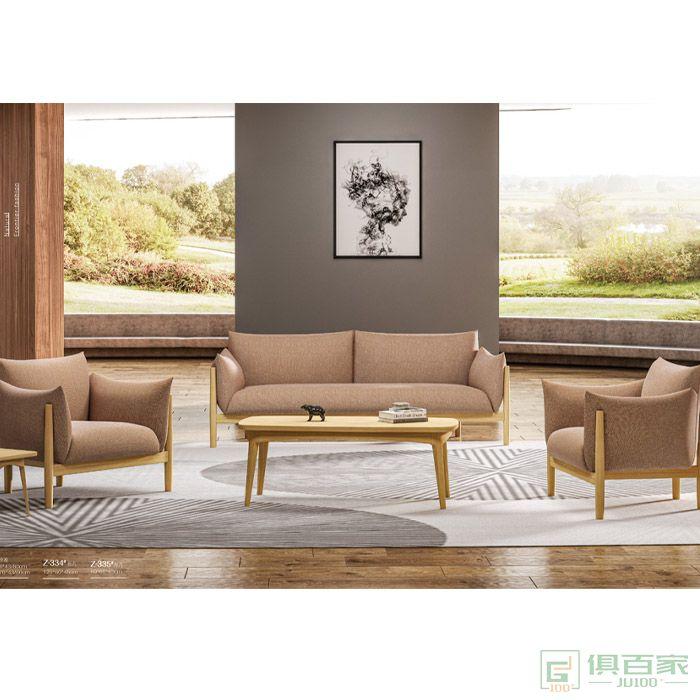 京图家具沙发系列办公沙发简约现代三人位商务会客接待