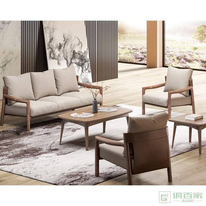 京图家具沙发系列办公沙发简约接待室会客区小户型办公室