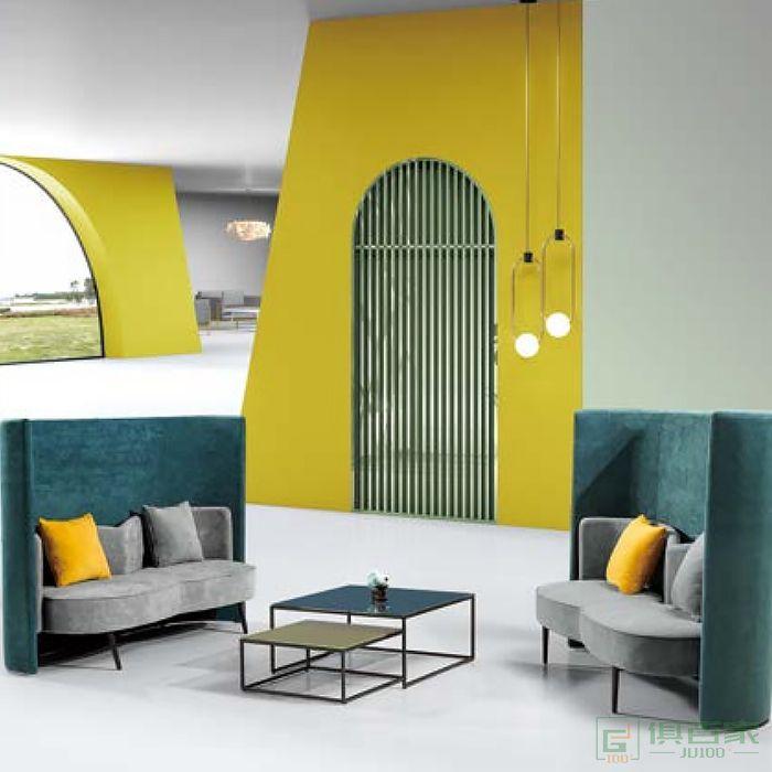 京图家具春风系列沙发休闲沙发布沙发