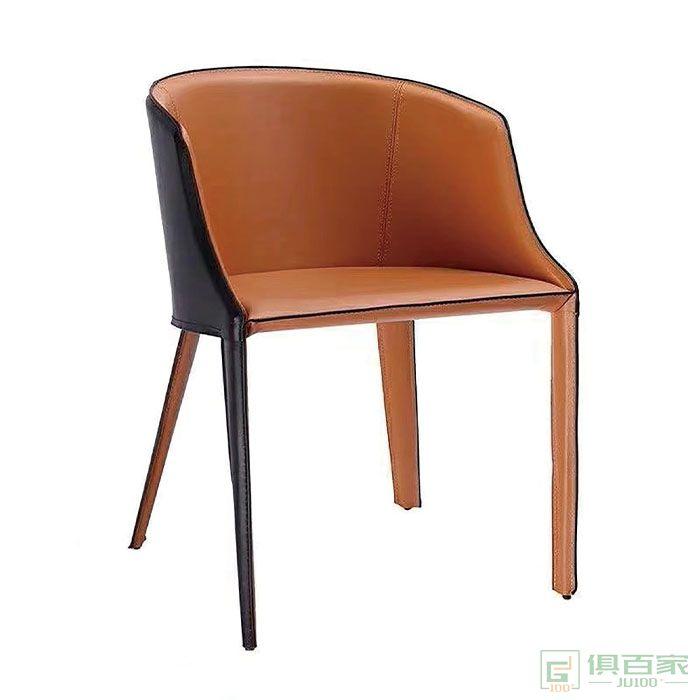 京图家具春风系列极简沙发椅单人沙发卧室客厅休闲椅办公室