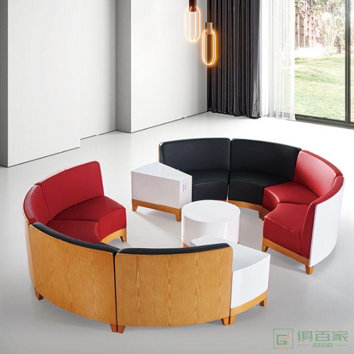 图龙家具异性休闲沙发