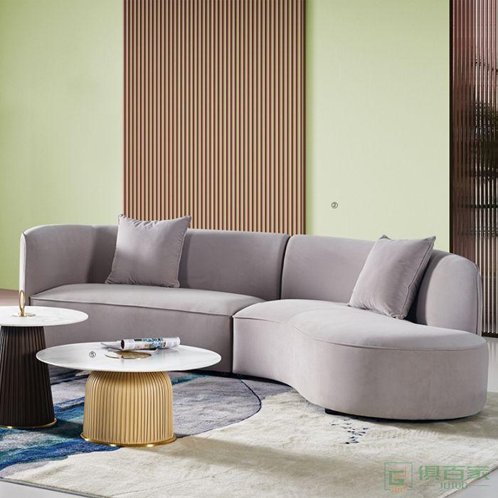 图龙家具沙发休闲沙发