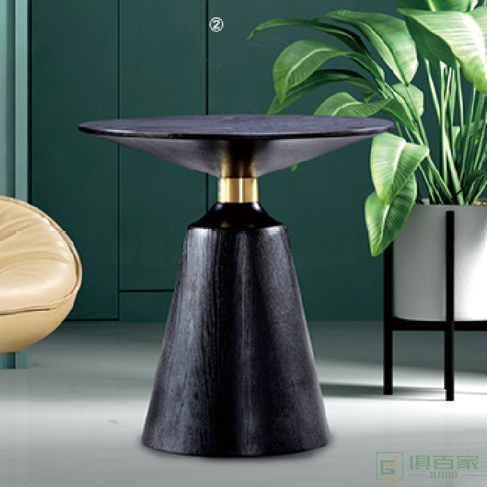 图龙家具洽谈桌圆形桌