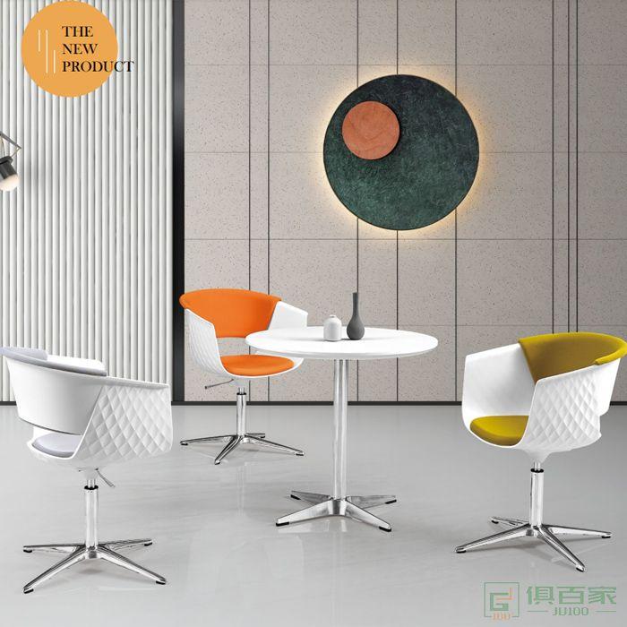 信梦圆家具休闲椅系列设计师休闲椅接待洽谈休闲椅