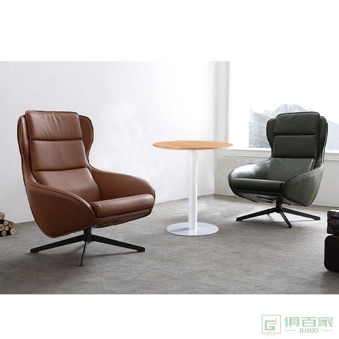 信梦圆家具休闲洽谈系列轻奢家用创意休闲椅